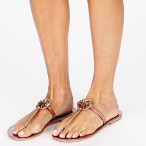 Last pair ❗️❗️Tory Burch Mini Miller Jelly Thong